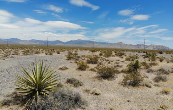 WOW! 2.6 Acres in Pahrump Nevada for Only $300 a Month? Yes Please!